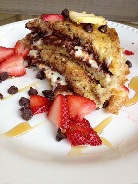 Cannoli & Chocolate Stuffed French Toast from @Blair R Mott - The ...