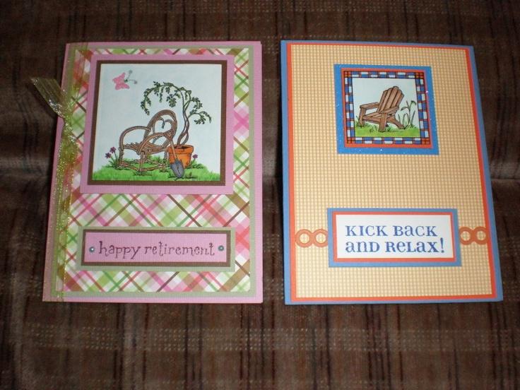Happy Retirement   Becky's Cards   Pinterest