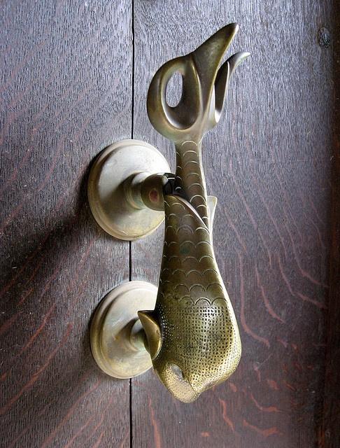 Fish knocker, Falkland, Scotland by duncan, via Flickr