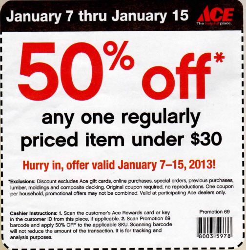 Ace coupon code
