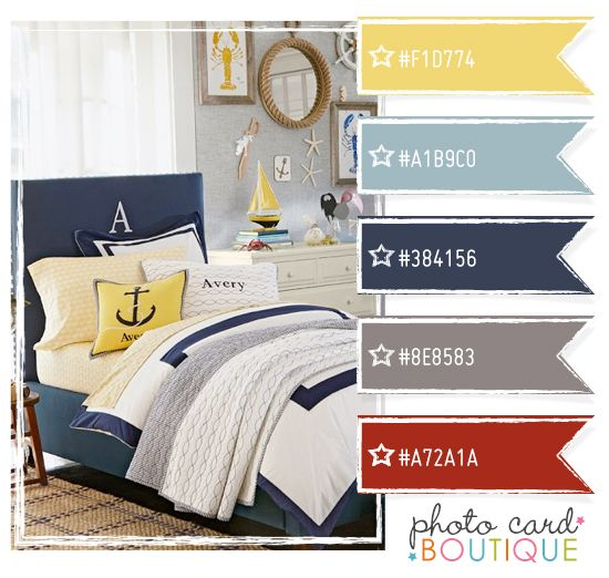 Navy Yellow And Red Color Palette Client T Pinterest