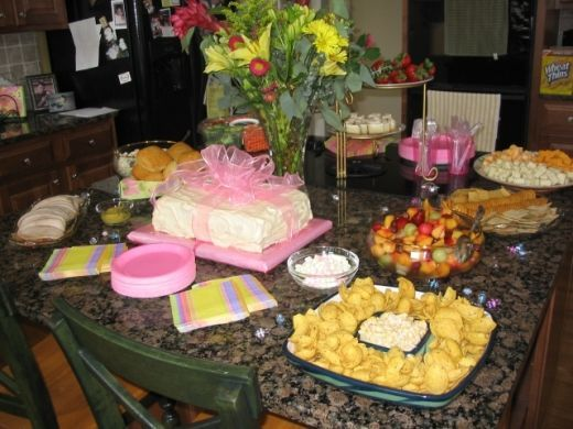 baby shower ideas for girls on a budget baby shower food menu ideas