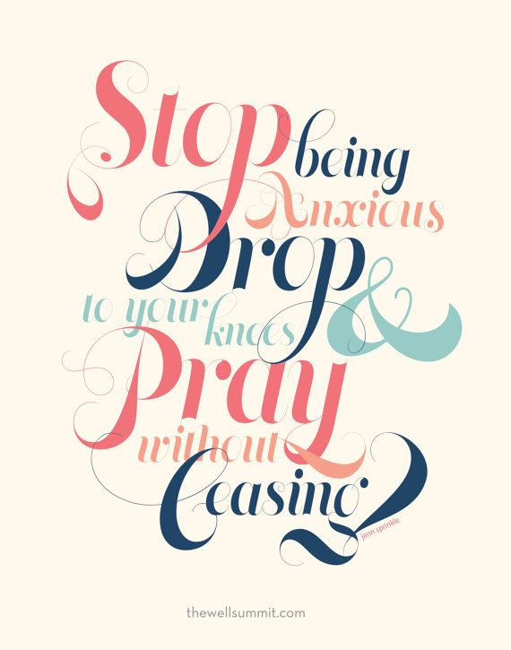 11x14 Poster - Stop Drop and Pray