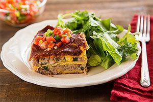 ... Herbed Avocado Toasties, Layered Tex-Mex Lasagna, Farmhouse Bread Stew
