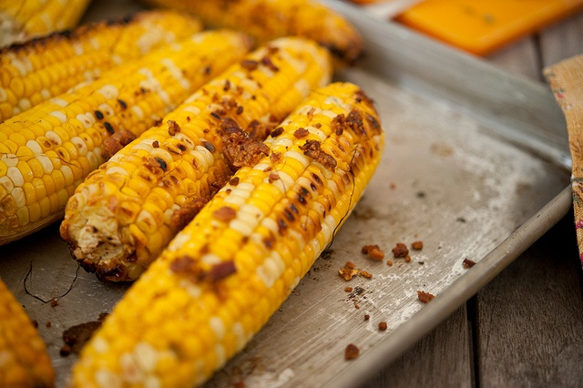 Grilled Corn with Bacon Butter and Cotija Cheese | Recipe