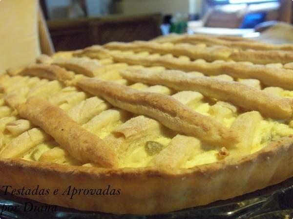 Torta salgada de ricota por Diana | Pães e Salgados | Receitas.com
