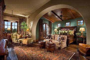 Mediterranean Bedroom Interior Design Pinterest