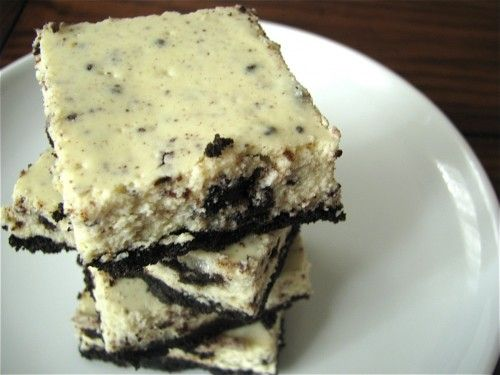 Cookies and Cream Cheesecake Bars | Tasty! | Pinterest