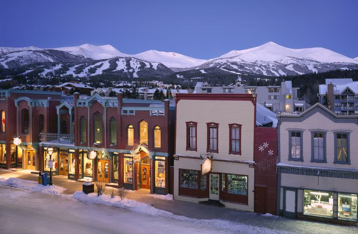 Cutest Town In America Breckenridge Pinterest