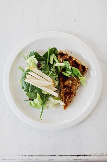 pistachio crusted tofu salad | Healthy Recipes II | Pinterest