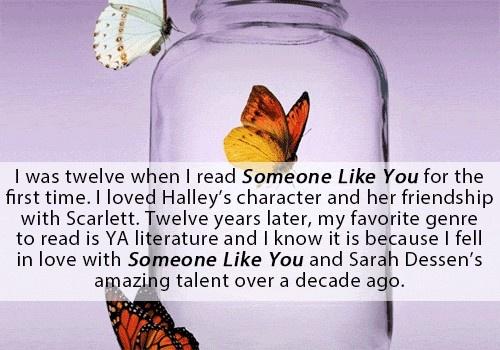 Books by Sarah Dessen
