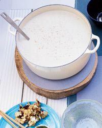Silky Cauliflower Soup Recipe from Food & Wine