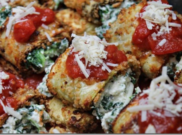 Eggplant Rollatini Recipe | Just A Pinch Recipes