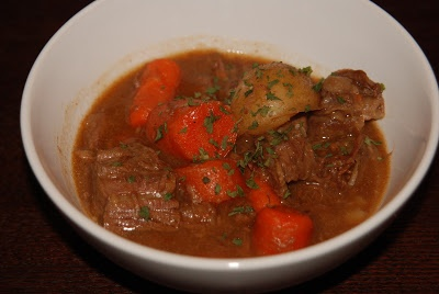 Beef Stew with Beer and Paprika | Katie's Cucina