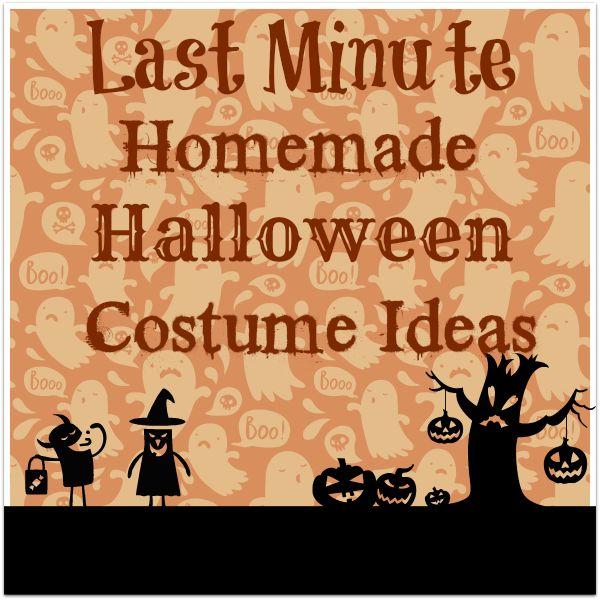 last minute halloween costume ideas for kids. Black Bedroom Furniture Sets. Home Design Ideas