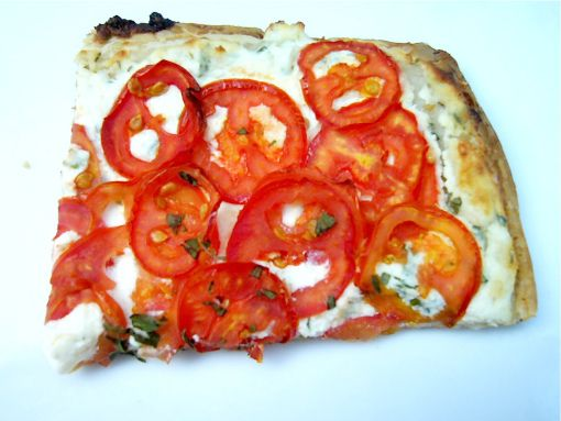 Tomato Tart with Herbed Ricotta | The Seasonal Gourmet | Pinterest