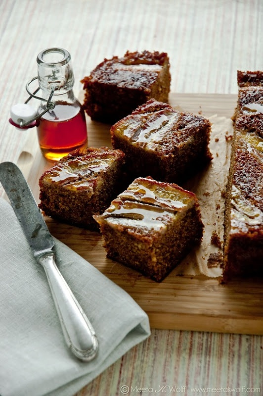 Sour Cream Maple Banana Cake | Baking - Cakes, Loafs, and Breads | Pi ...