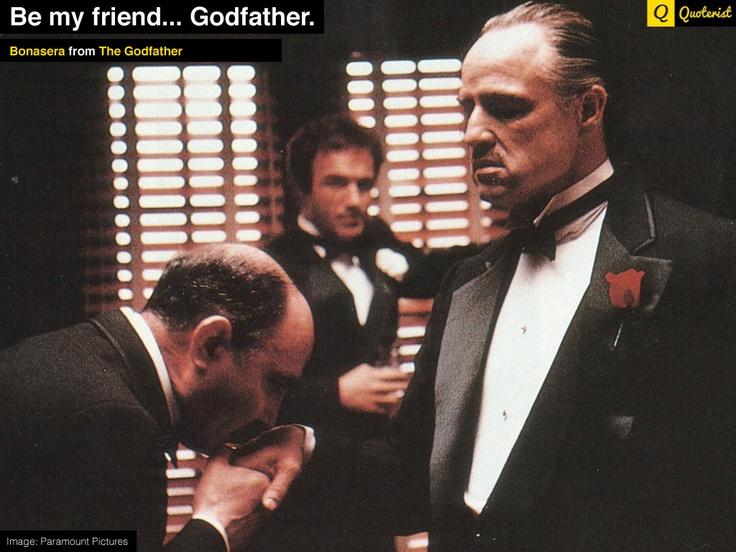 Friendship Quotes Godfather : Quot be my friend godfather bonasera from thegodfather