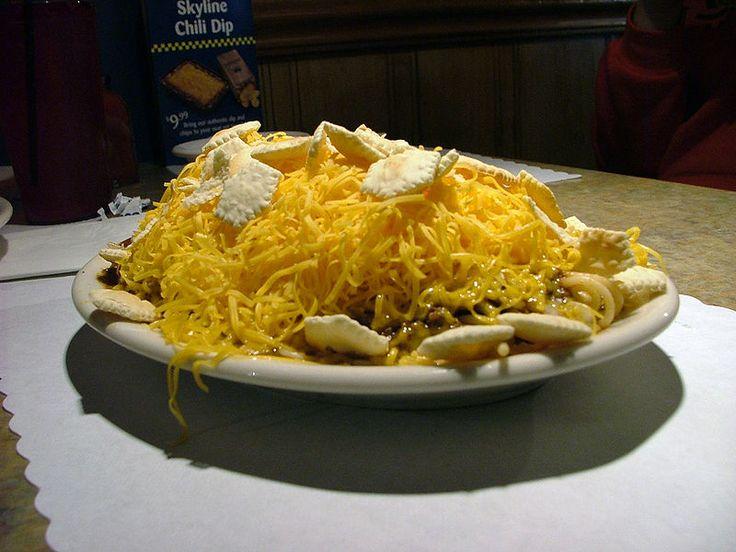 ... Chili Spaghetti. I like it on my fries chili Cheese fries Cincinnati