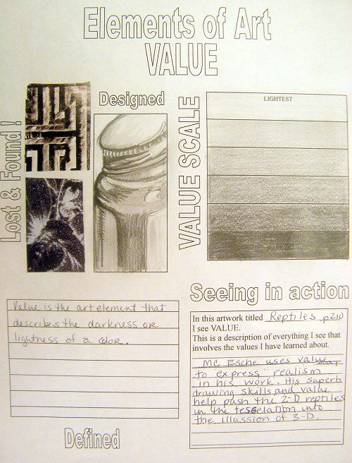 Elements Of Art Value : Pin by ellen jaye benson on elements and principles of art