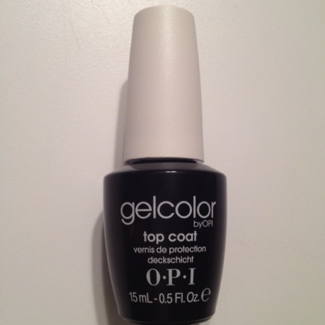OPI released their version of CND's  Shellac.