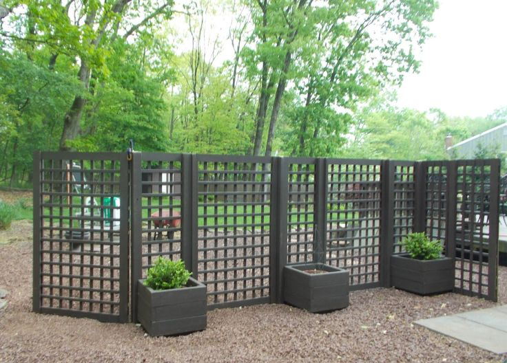 Planters and privacy screen patio pinterest for Outdoor privacy screen planter