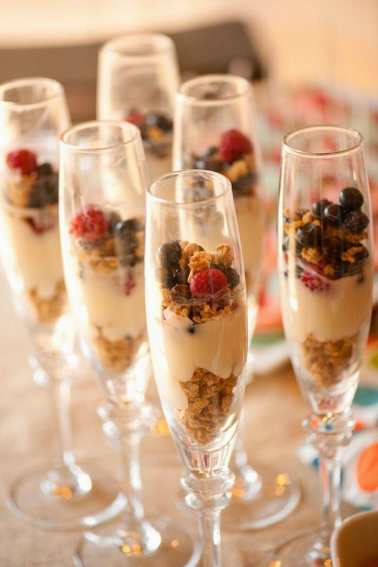 Healthy Yogurt Breakfast Parfait With Blueberries & Granola Recipes ...