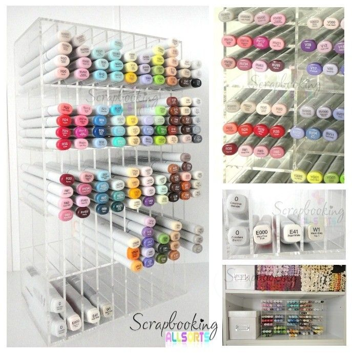 Acrylic Copic Storage Centre