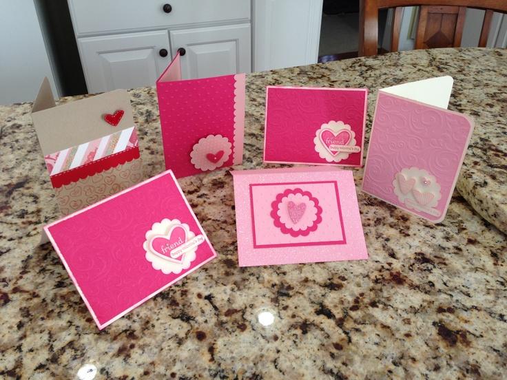valentine's day scrapbook layouts
