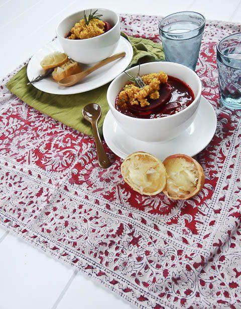 beetroot amp maitake stew with turmeric quinoa vegetarian passover ...