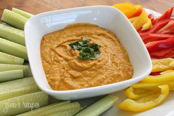 Chick Pea and Roasted Pepper Dip Recipe | Tupperware recipes | Pinter ...