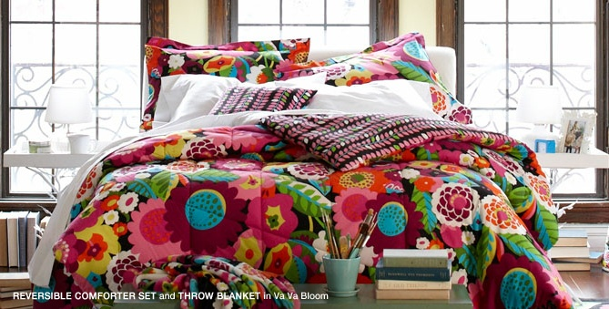 Vera Bradley Dorm Bedding Dorm Room Ideas Pinterest