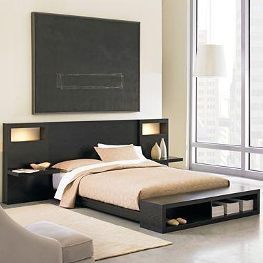 soho panel platform bedroom furniture house pinterest
