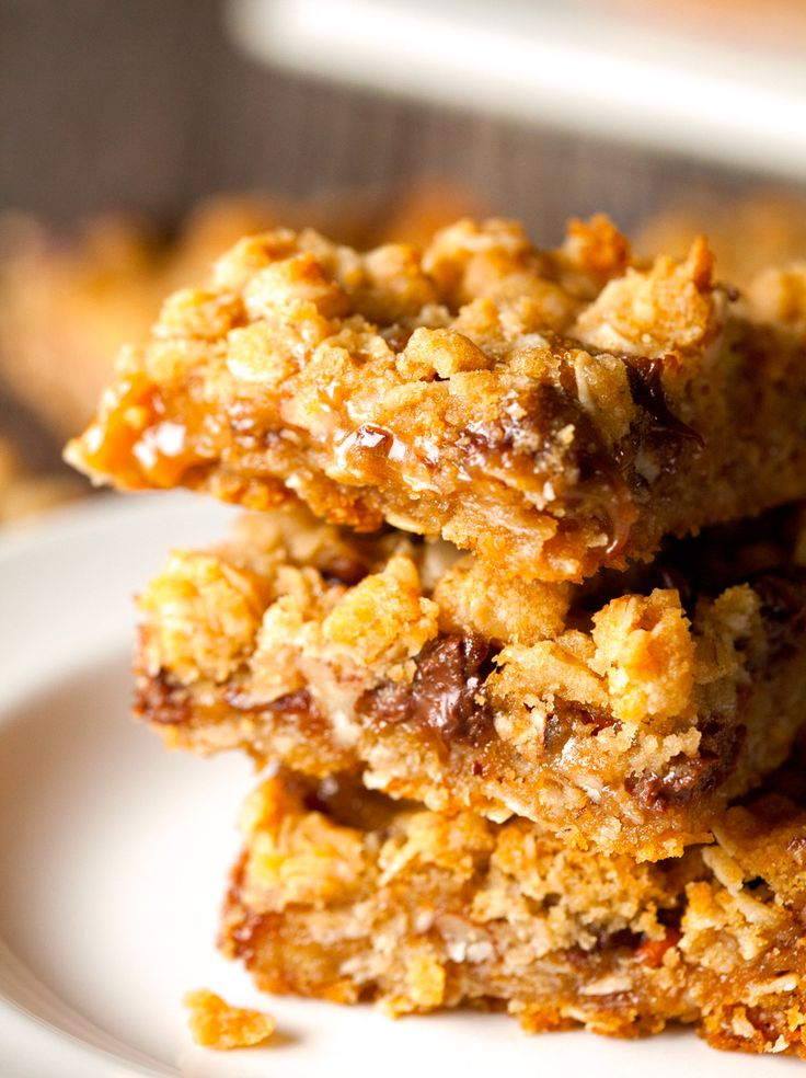 oatmeal carmelitas | Food/cookies | Pinterest