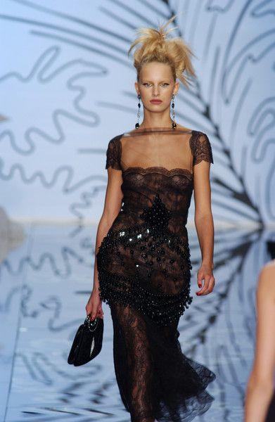 valentino black dress