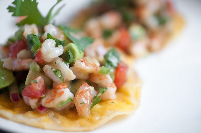 zesty lime shrimp and avocado salad I prepared from a pin taken from ...