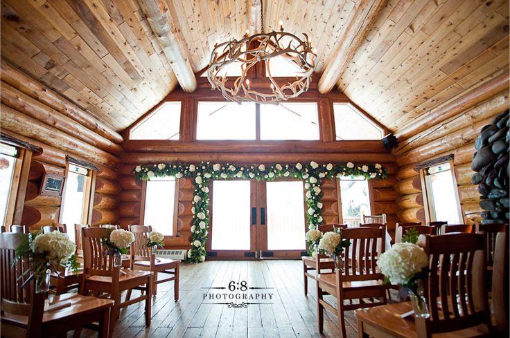 Log Cabin Intimate Wedding Wedding Ideas Pinterest