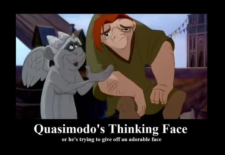 Quasimodo s Thinking Face by BelleSura deviantart com on  deviantARTQuasimodo Disney Sad