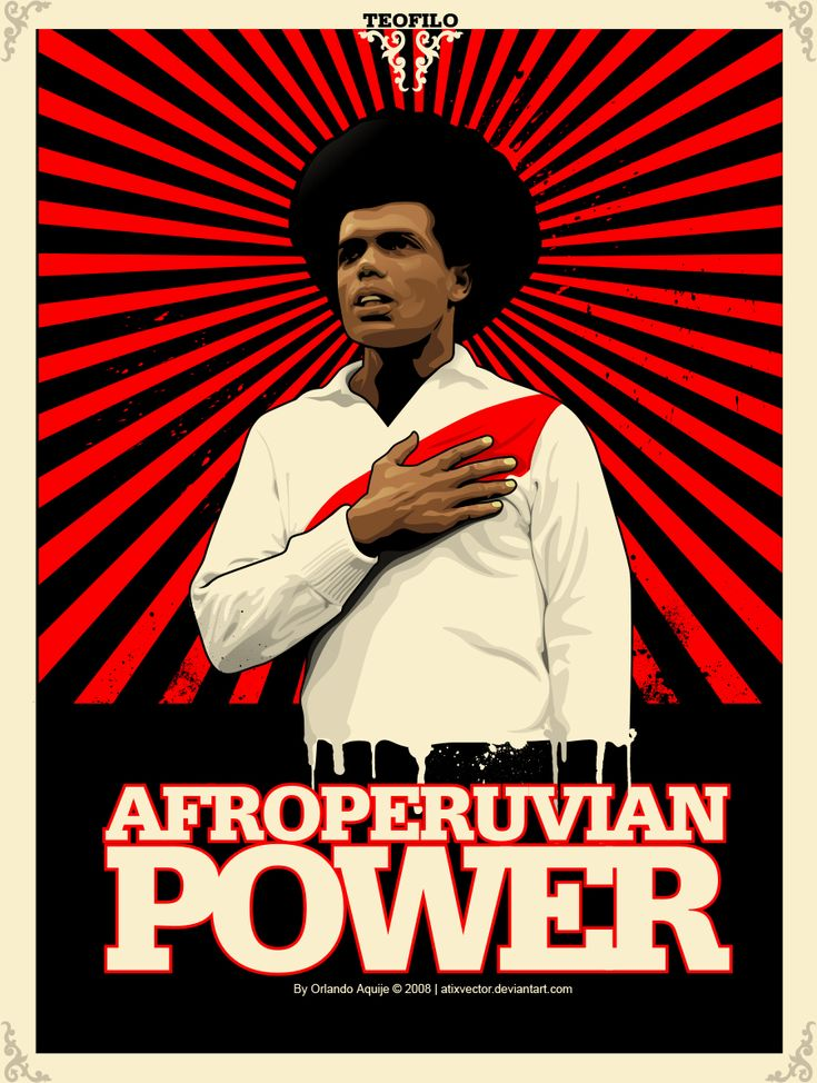 afro-peruvian people | AFROPERUVIAN POWER by ~AtixVector on deviantART