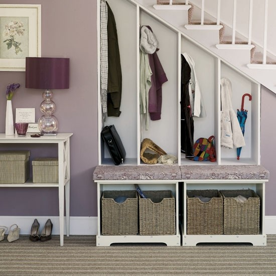 Handige garderobe onder de trap for the home pinterest - Handige trap ...