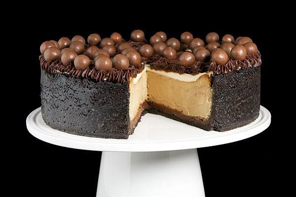 Cappuccino-Fudge Cheesecake Recipe — Dishmaps