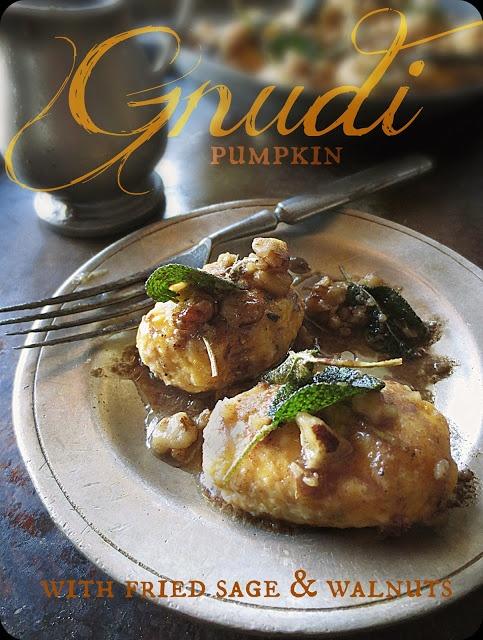 ... Storyteller Experience: Pumpkin Gnudi with Fried Sage & Walnuts