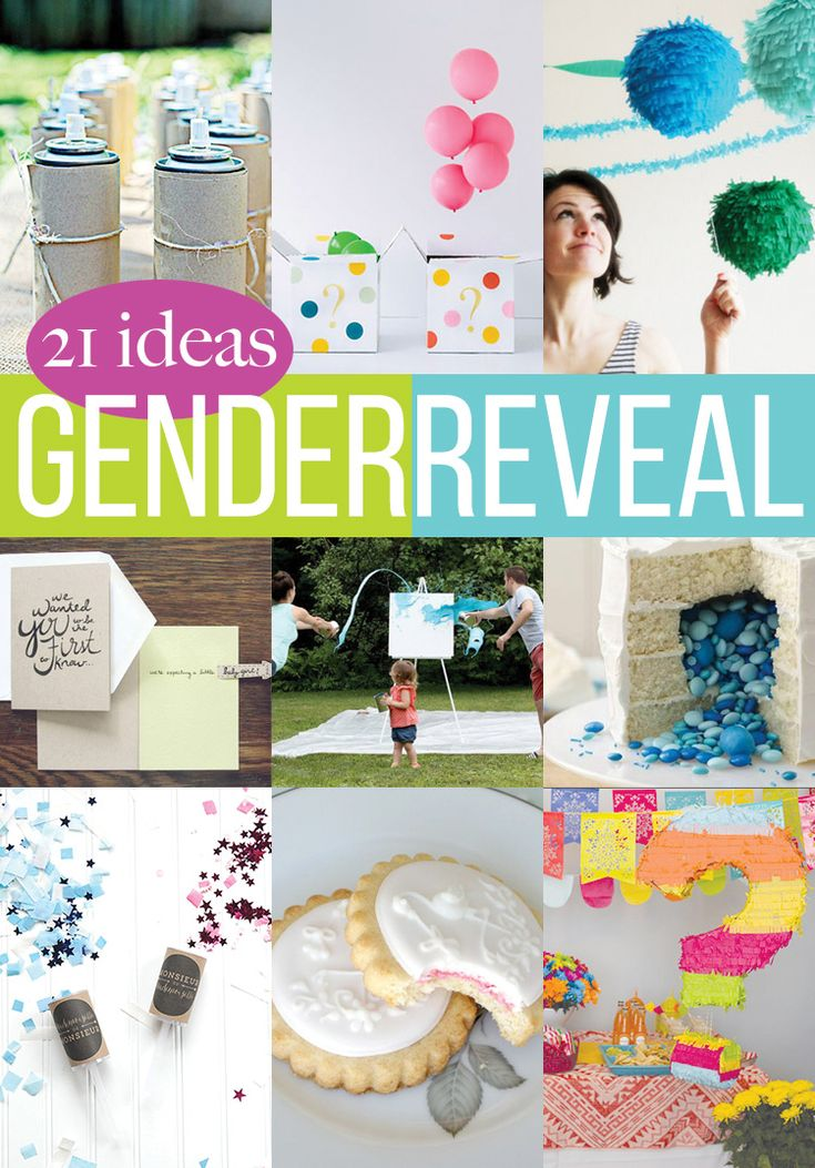 21 Cute and Creative Gender Reveal Ideas