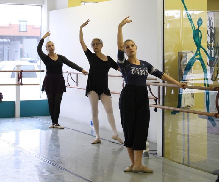 adult ballet class denver