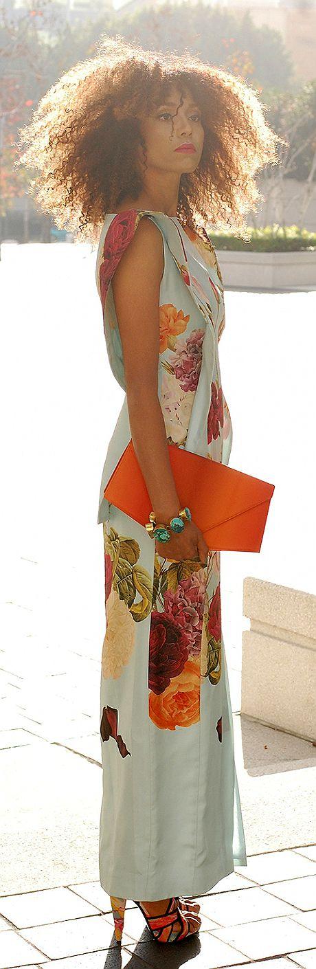 Il Global ragazza vestito floreale v