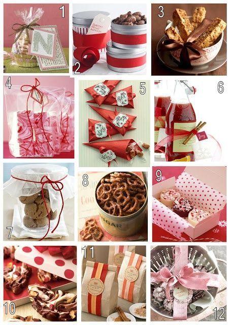 Homemade Christmas Gift Ideas Pinterest