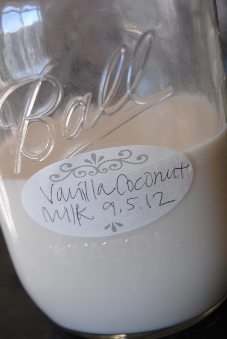 Heavy On Wholesome: Homemade Coconut Milk + Coconut Flour I think I ...