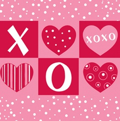 valentine's day napkins