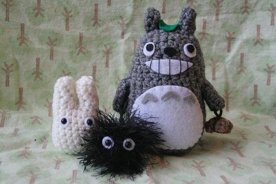 Crochet Totoro & friends