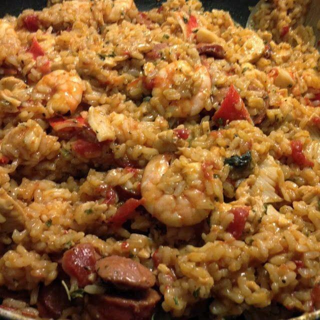 Shrimp and sausage Jambalaya | Recipes | Pinterest